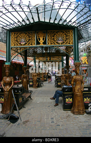 A Section of the New Camden Market Development, London, UK - Stock Image
