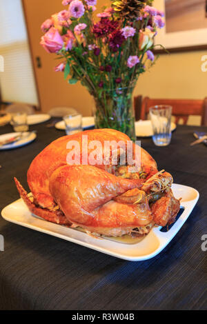 Turkey dinner - Stock Image