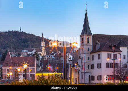 Old Town of Annecy, France - Stock Image