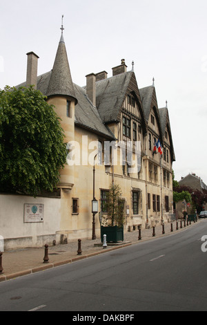 The Vergeur Museum, Place du Forum, Reims, Marne, Champagne-Ardennes, France. - Stock Image