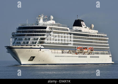 Cruiseship Viking Star - Stock Image