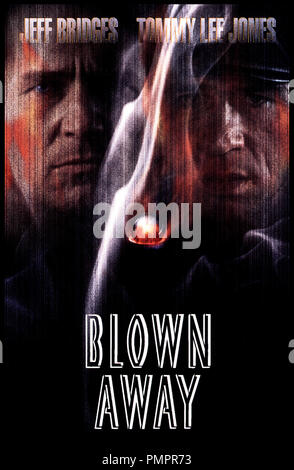 Prod DB © MGM / DR BLOWN AWAY (BLOWN AWAY) de Stephen Hopkins 1994 USA d'aprs le scŽnario de John Rice avec Jeff Bridges et Tommy Lee Jones affiche - Stock Image