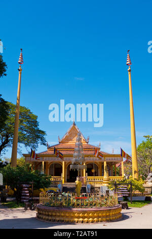 Wat Damnak, Siem Reap, Cambodia, Asia - Stock Image