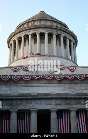 NEW YORK, NY - JUNE 18: Exterior of General Grant National Memorial in Morningside Heights in Manhattan on JUNE 18th, 2017 in New York, USA. (Photo by - Stock Image