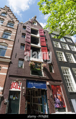Jourdan Hostel, Amsterdam, Netherlands - Stock Image