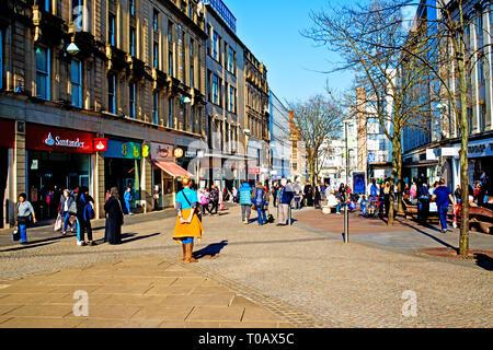 Sheffield,City Centre,  England - Stock Image