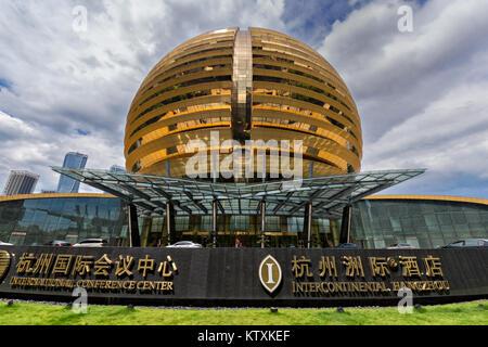 Intercontinental Hangzhou Hotel - Stock Image