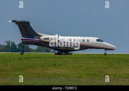 Embraer Phenom 300 (twin-jet) - Stock Image