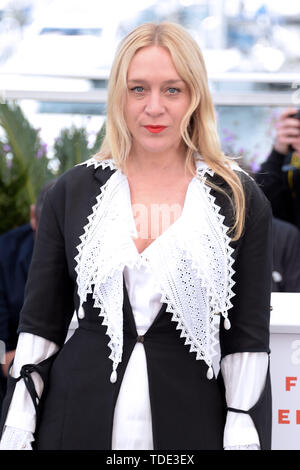 """72nd Cannes Film Festival 2019, Photocall film """"The dead don't die"""" Pictured: Chloe Sevigny  Where: Cannes, France When: 15 May 2019 Credit: IPA/WENN.com  **Only available for publication in UK, USA, Germany, Austria, Switzerland** - Stock Image"""