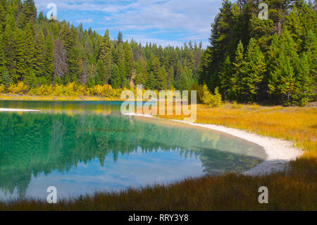 Kentucky Lake, British Columbia, Canada - Stock Image