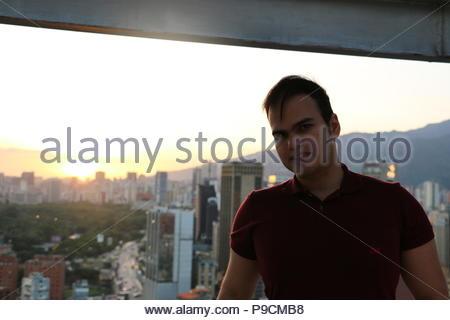 Vicente Quintero. Photo taken from CitiBanl Centro Comercial El Recreo (El Recreo Shopping Mall) in Caracas Venezuela. Sabana Grande Caracas. - Stock Image