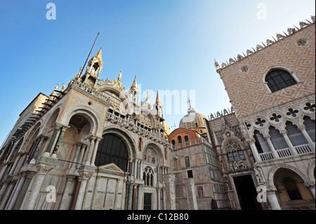 Basilica di San Marco and Palazzo Ducale - Stock Image