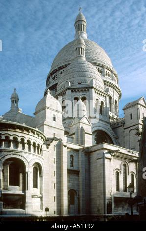 Sacre Couer Montmartre Paris France - Stock Image
