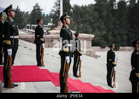 People Liberation Army, Beijing China - Stock Image