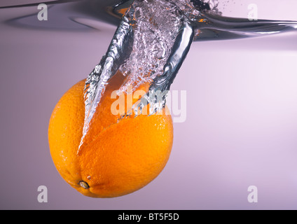 Orange dives - Stock Image