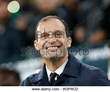 massimiliano allegri, juventus-cagliari, torino 02.11.18 - Stock Image
