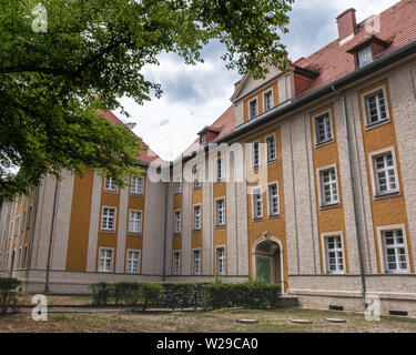 The 'Dahlem-Palais'.Early Twentieth century Listed residential complex designed by architect Heinz Tietze.Historic apartment building In Dahlem-Berlin - Stock Image