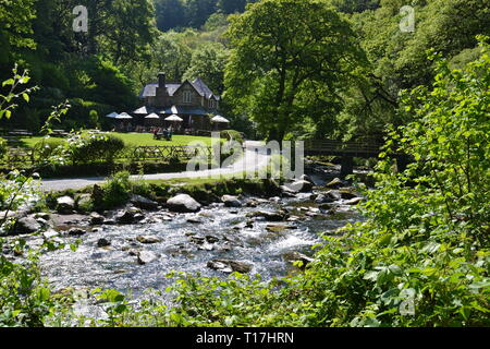 Watersmeet, Lynmouth, Devon, UK - Stock Image