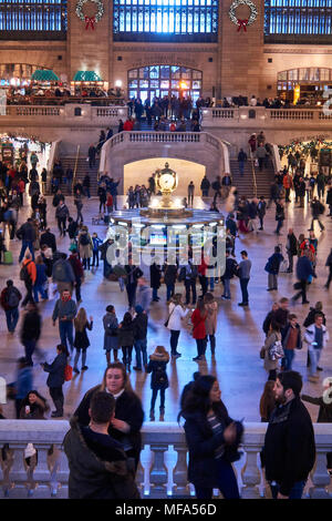 Grand Central Station main concourse - Stock Image