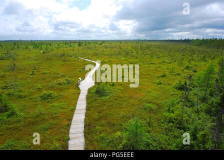 Landscape uncontaminated Quebec Canada - Stock Image