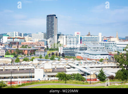 Sheffield skyline Sheffield - Stock Image