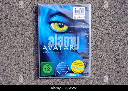avatar dvd - Stock Image