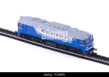 The Diesel locomotive. - Stock Image