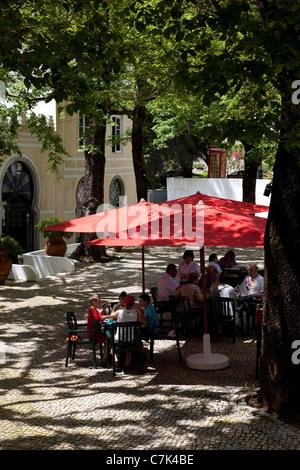 Portugal, Algarve, Caldas De Monchique, Cafe - Stock Image