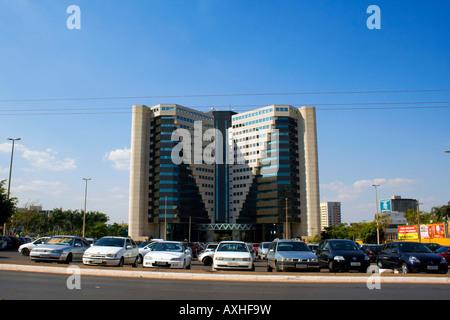 Varig Entrepreneurs Center, North Autarchy Sector, Brasilia, Brazil (Centro Empresarial VARIG Asa Norte Brasilia - Stock Image