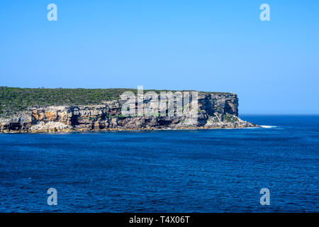 View of North Head, a headland that is part of Sydney Harbour National Park, New South Wales, Australia. - Stock Image
