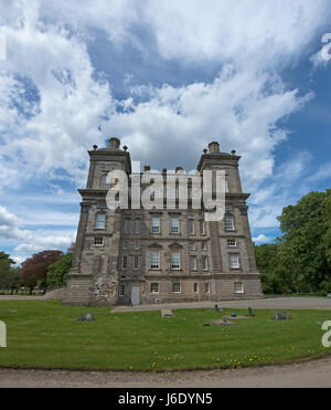 The exterior of Duff house at Banff in Aberdeenshire. Scotland. UK. - Stock Image