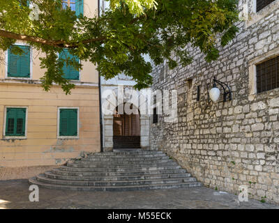 Old City Gate, Sibenik, Croatia - Stock Image