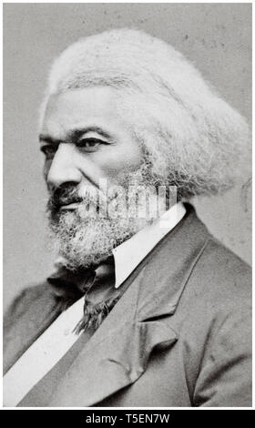 Frederick Douglass (1818-1895), portrait by George Kendall Warren, 1876 - Stock Image