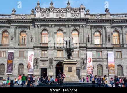 at National Art Museum (Museo Nacional de Arte) , mexico city, mexico - Stock Image