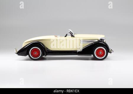Matchbox Models of Yesteryear Y-19 Auburn Speedster 851 1936 - Stock Image