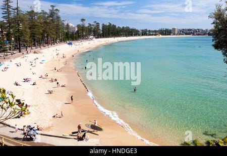 Manly Beach, Sydney, Australia - Stock Image