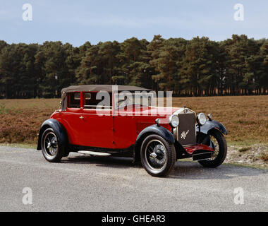1930 Alfa Romeo 1.75 litre Tipo 6C 1750 Turismo Country of origin Italy - Stock Image