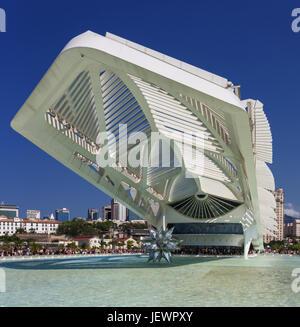 Museum of Tomorrow in Rio de Janeiro - Stock Image