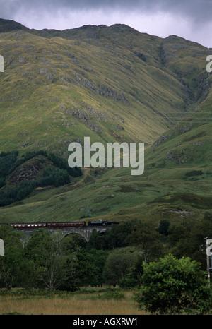 Glenfinnan Viaduct - Stock Image