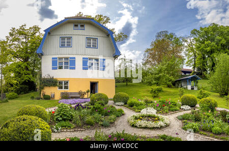 Muenter House in Murnau, Bavaria, Germany. - Stock Image
