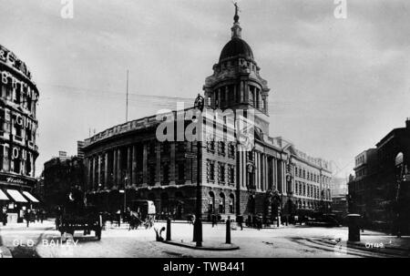 The Old Bailey, Central Criminal Court, London EC4.      Date: circa 1905 - Stock Image