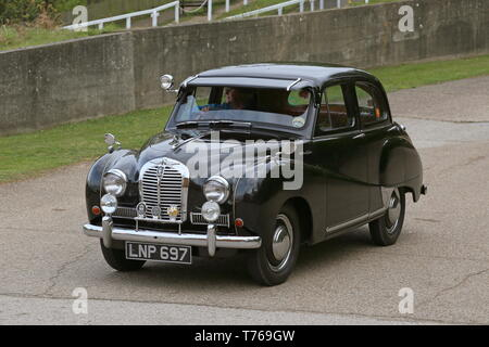 Austin A40 Somerset (1953), British Marques Day, 28 April 2019, Brooklands Museum, Weybridge, Surrey, England, Great Britain, UK, Europe - Stock Image