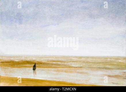 James McNeill Whistler, Sea and Rain, painting, 1865 - Stock Image