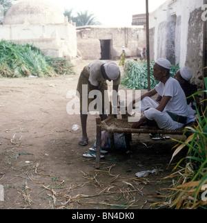 Traditional scene Zabid Yemen - Stock Image
