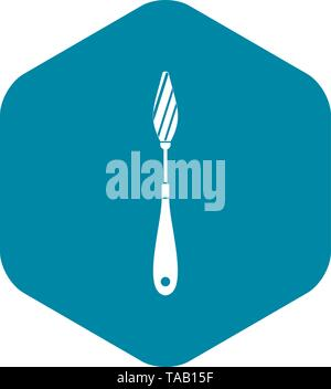Scraper icon, simple style - Stock Image