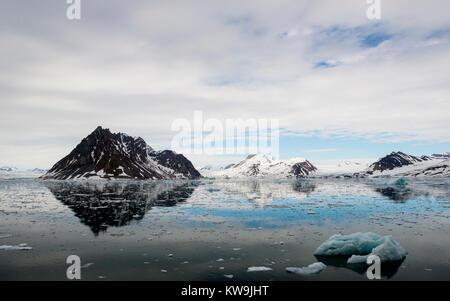 Hornsund, Svalbard - Stock Image