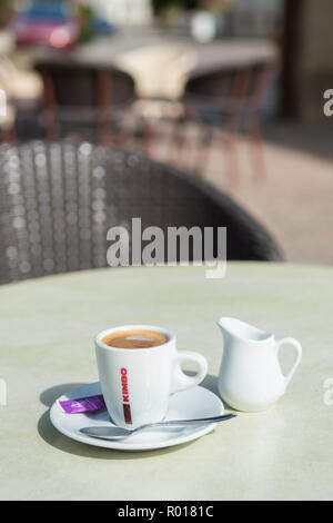 Kimbo coffee - Stock Image