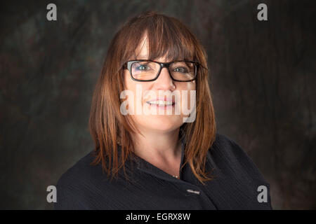 Walsall, West Midlands, UK. 1st March 2015. Clare Bramley Commercial Director at the new Big Centre TV channel. - Stock Image