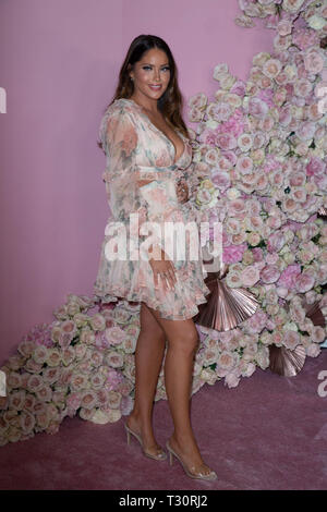 Los Angeles, USA. 30th Jan, 2019. Olivia Pierson attends the launch of Patrick Ta's Beauty Collection at Goya Studios on April 04, 2019 in Los Angeles, California. Credit: The Photo Access/Alamy Live News - Stock Image