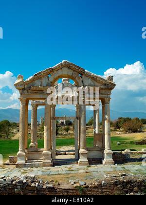The Tetrapylon at Afrodisias - Stock Image